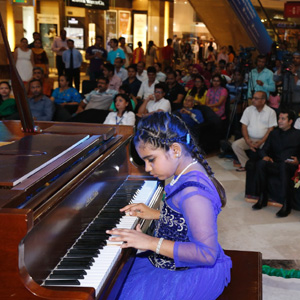 Ambiance Mall Gurgaon - Live Piano Concert